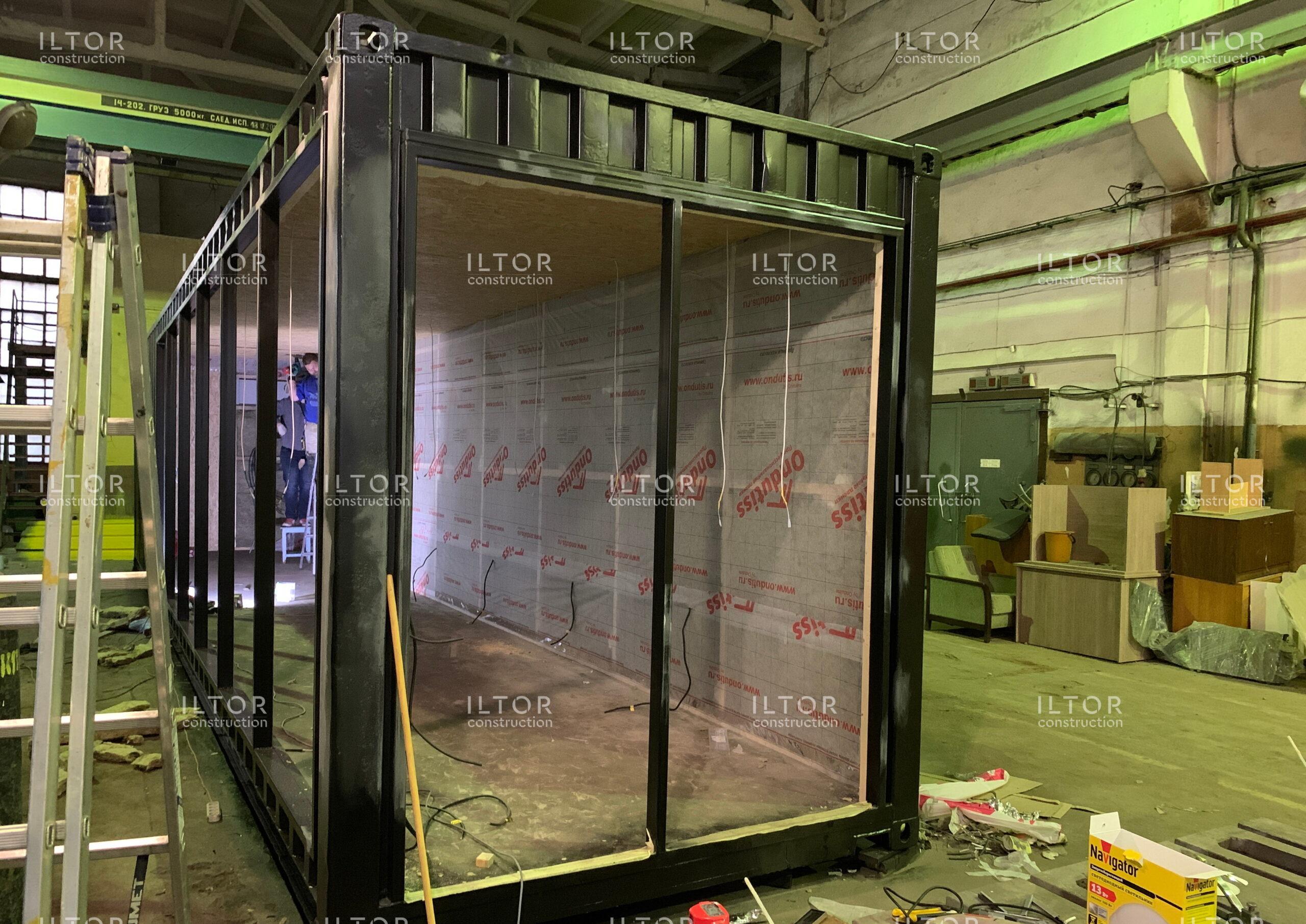 Переделка контейнера