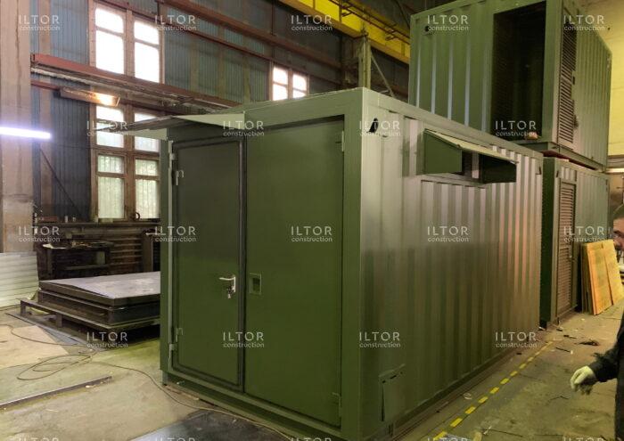 Цельносварной контейнер для ЦОД