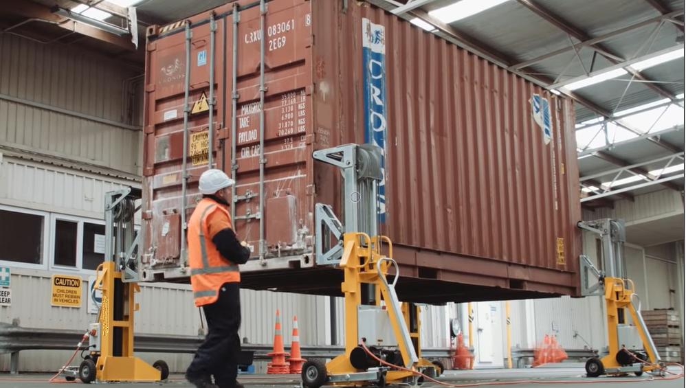 Домкраты гидравлические для контейнеров