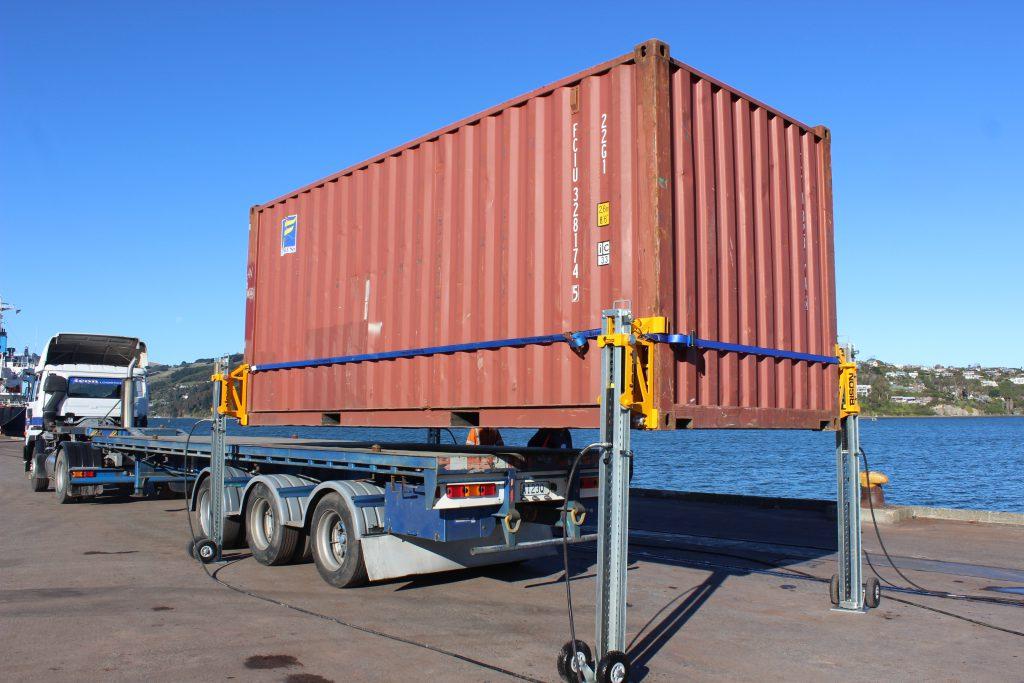 Домкраты для контейнеров