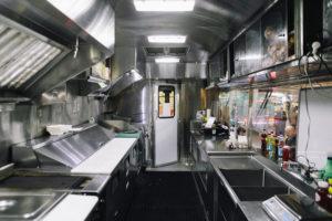 Кухня на базе прицепа