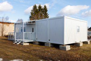 Модульное здание из блок модулей
