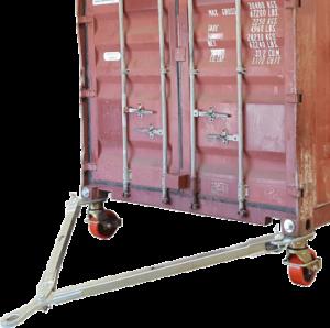 Буксировочная штанга для перемещения контейнеров