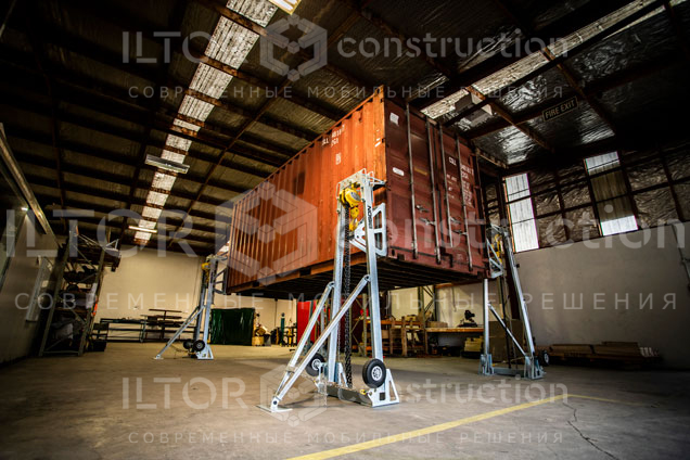 Домкраты для контейнеров морских