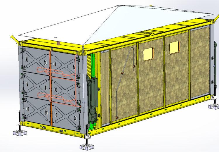 Проектирование контейнеров ИЛТОР