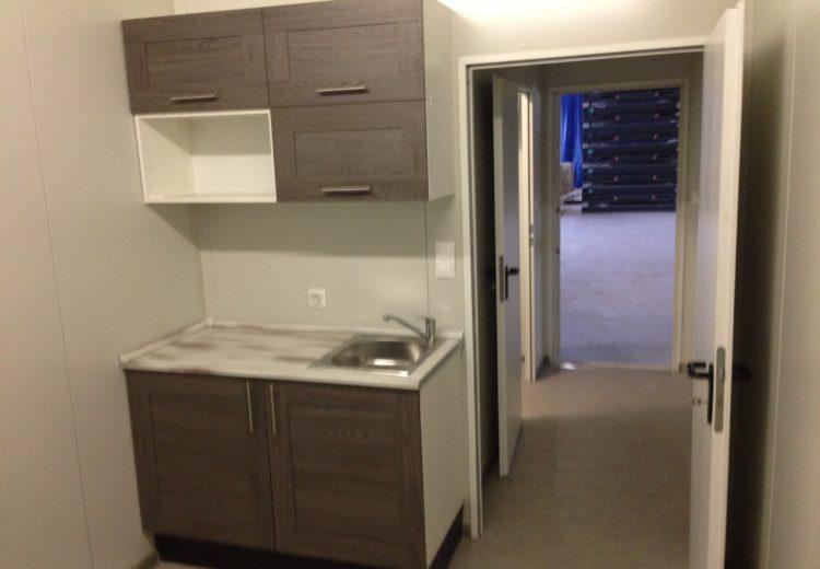 Кухня в блок модуле