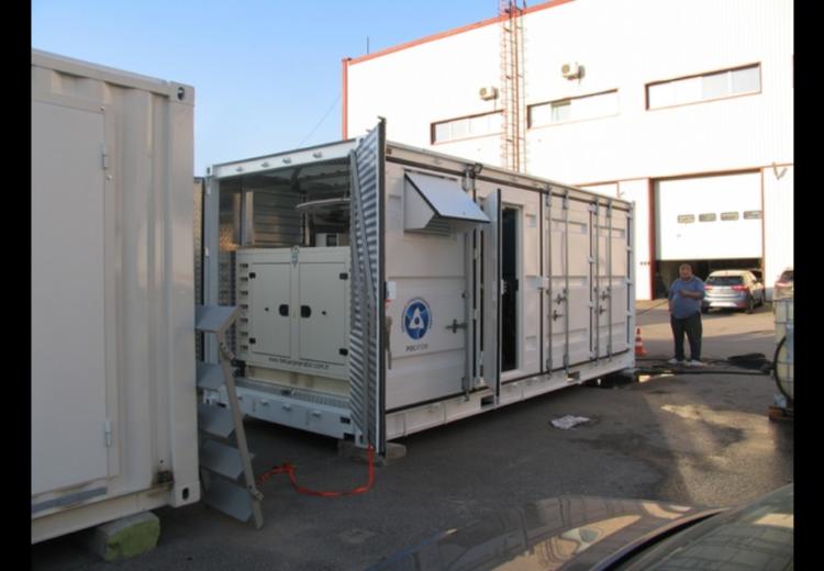 Мобильная контейнерная электростанция