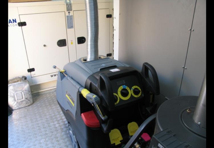 монтаж оборудования в блок-контейнеры