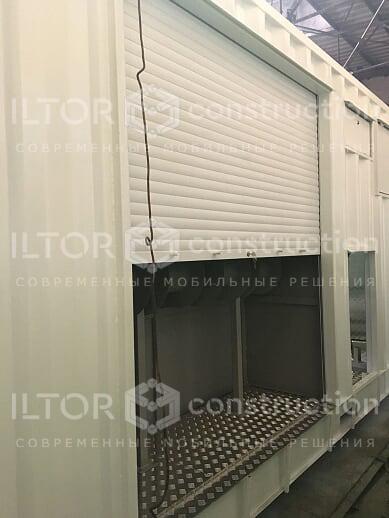 Энергетическая станция в контейнерном исполнении ИЛТОР