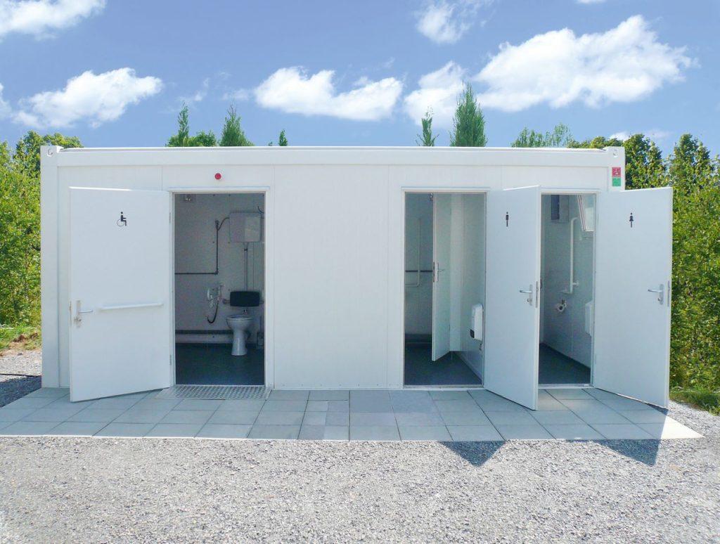 санитарные блок контейнеры