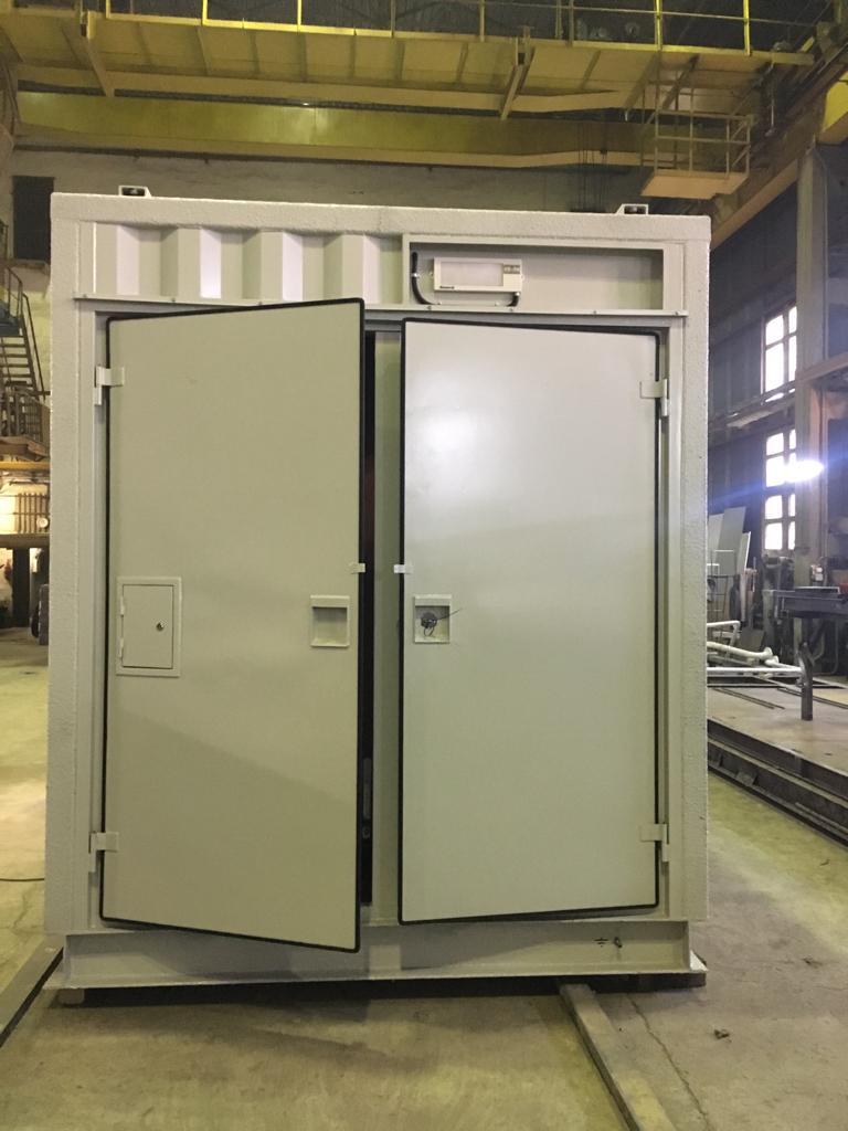 Цельнометаллический контейнер для оборудования