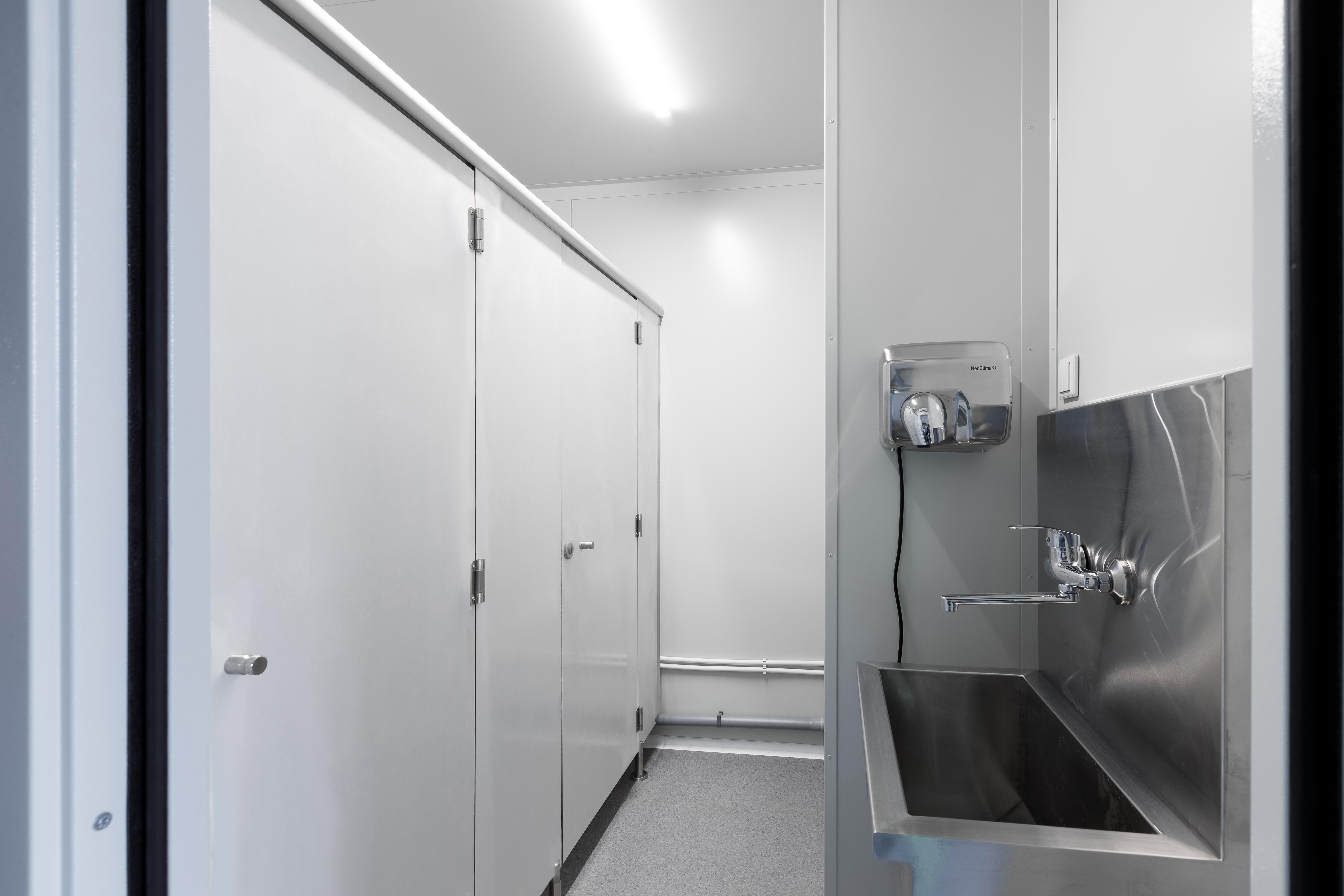 Модульный автономный туалет