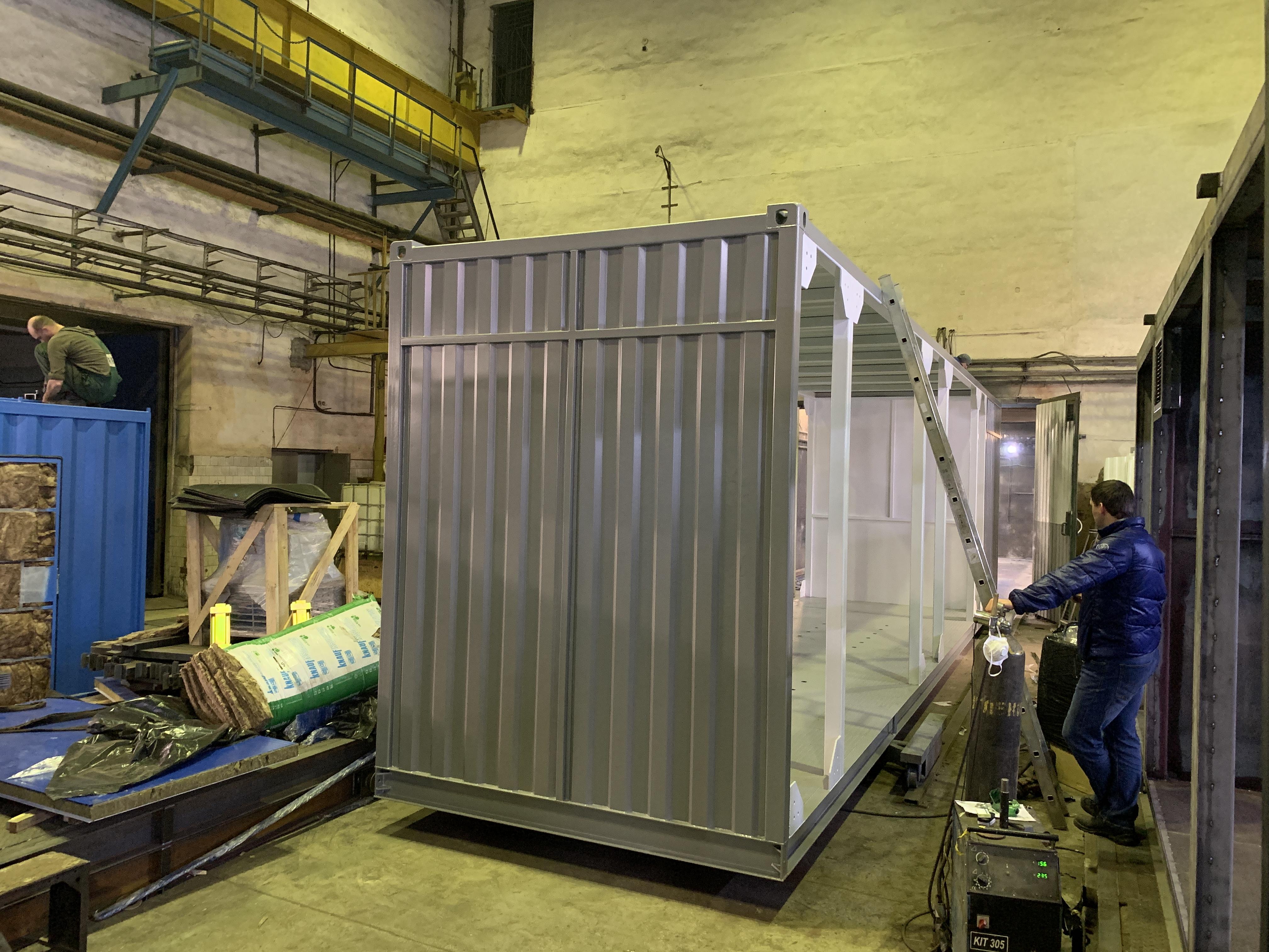 Производство контейнеров металлических