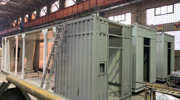 Производство цельнометаллических контейнеров