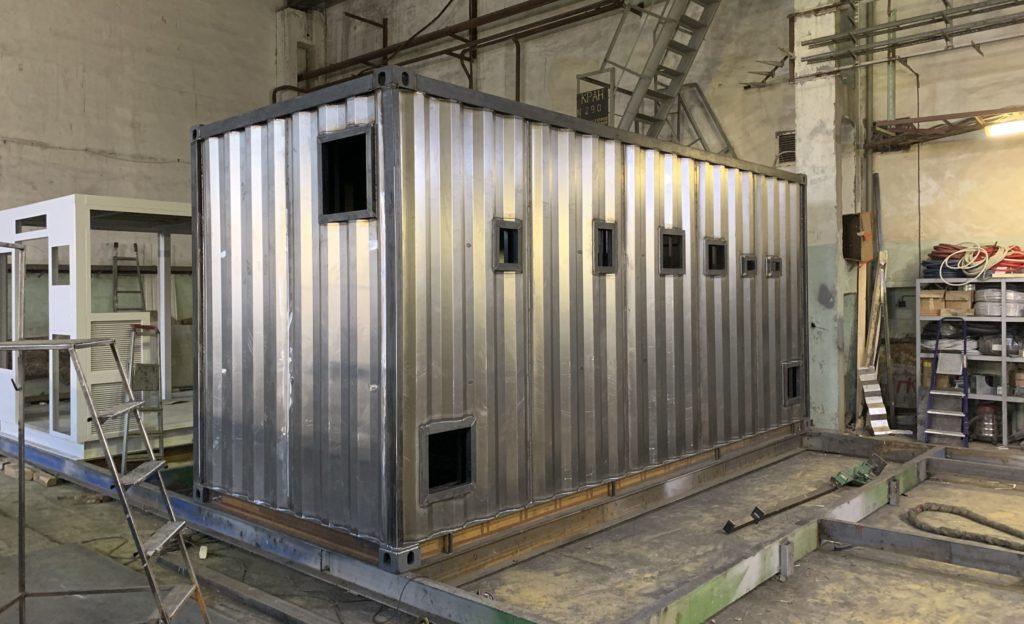 Контейнер утепленный для энергетического оборудования