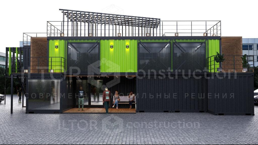 Дизайн проект домов из контейнеров