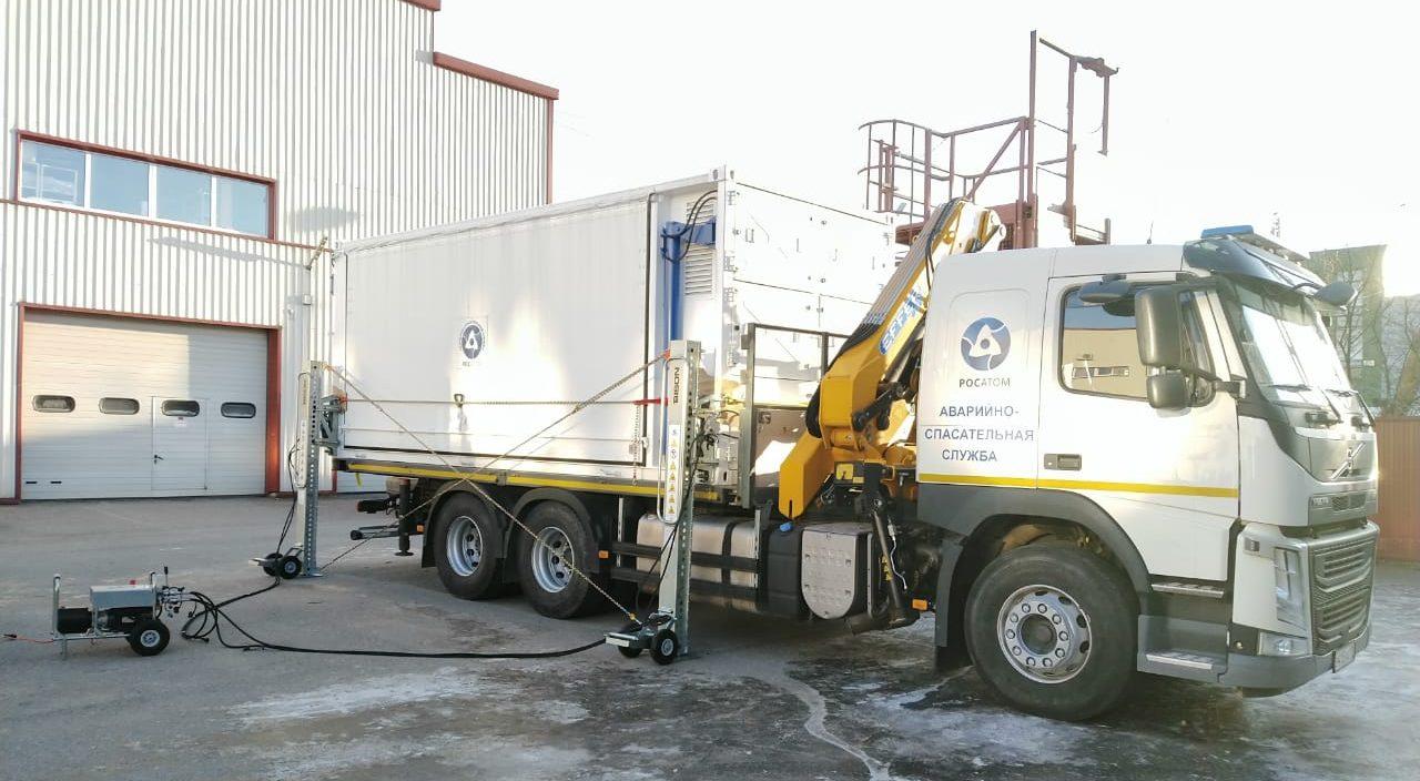 Домкраты для подъема контейнеров