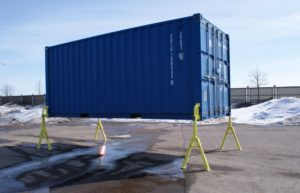 Опоры для съемных контейнеров