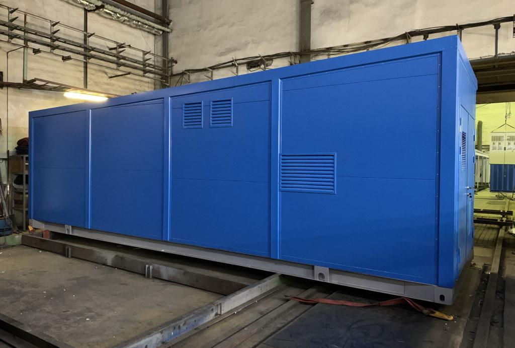Производство блок контейнеров для оборудования