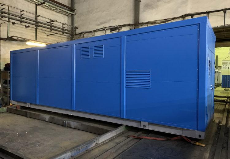 Производство контейнеров для оборудования