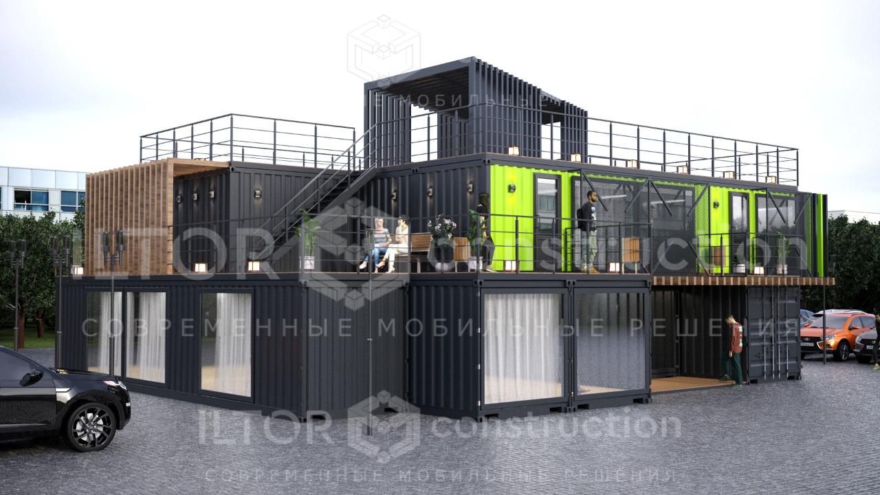 Офис из контейнеров