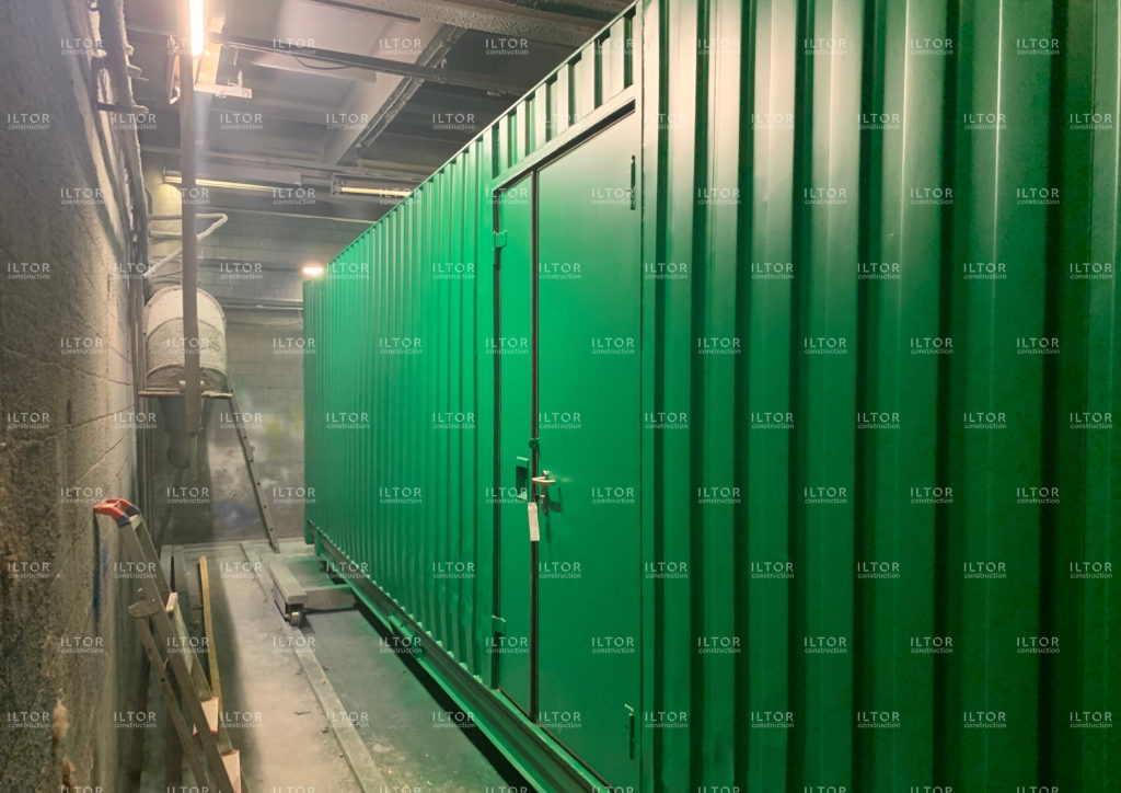 Переоборудование 45 футового контейнера