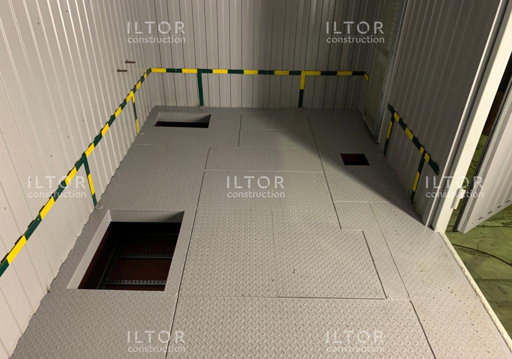 Производство контейнеров со съемными полами