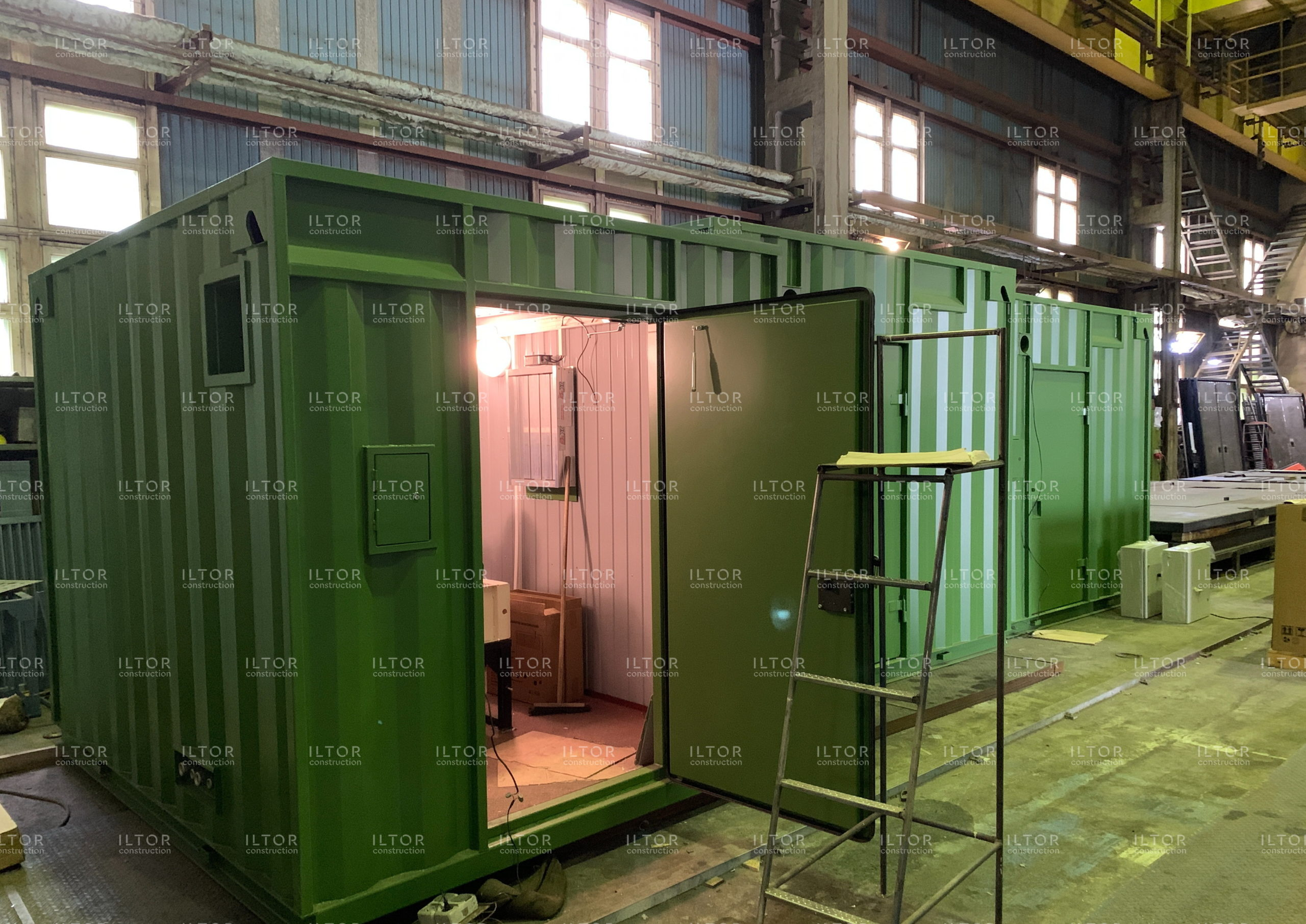 Изготовление контейнеров цельносварных