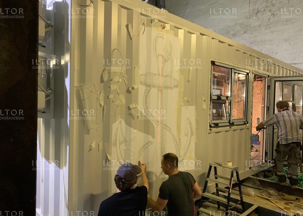 Переоборудование и модернизация контейнера