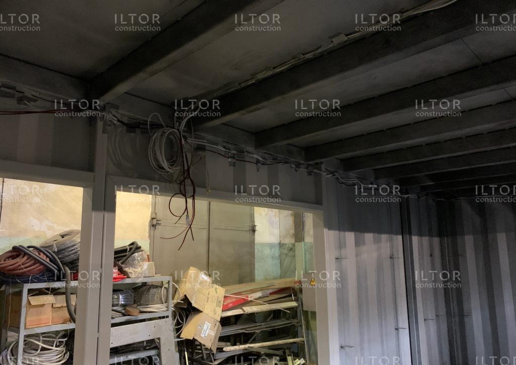 Прокладка кабелей электроснабжения, видео и аудио
